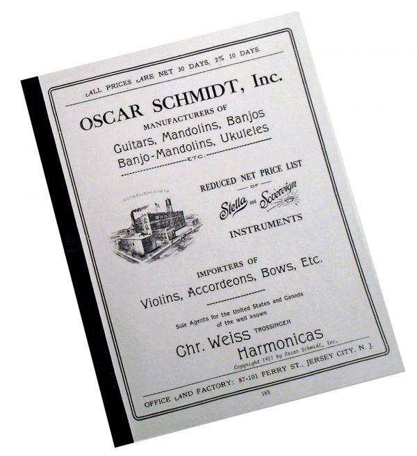 1921 oscar schmidt catalog cover