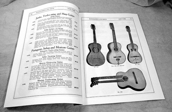 1916 Buegeleisen & Jacobson Fretted Musical Instruments catalog